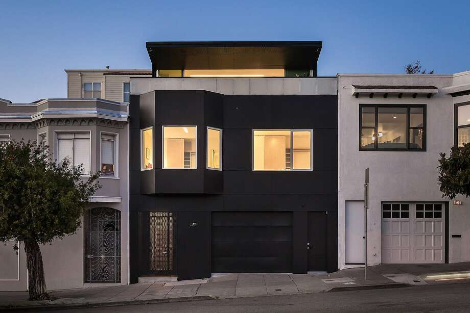 1330 20th St. in Potrero Hill is a four-bedroom designed by More Ulnes Architects. Photo: Jacob Elliott Photography