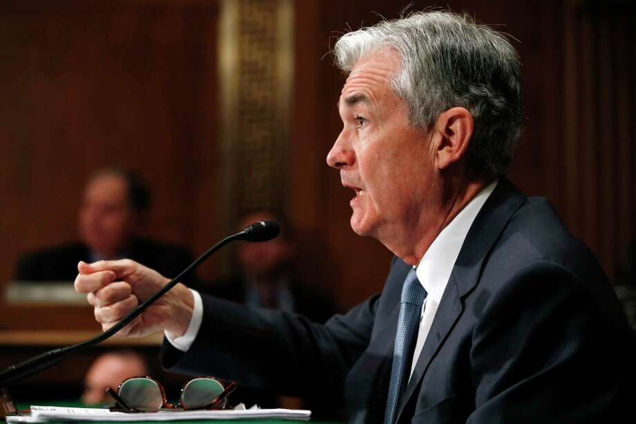 Federal Reserve Chairman Jerome Powell testifies as he gives the semiannual monetary policy report to the Senate Banking Committee, Thursday, March 1, 2018, on Capitol Hill in Washington. (AP Photo/Jacquelyn Martin) Photo: Jacquelyn Martin / Copyright 2018 The Associated Press. All rights reserved.