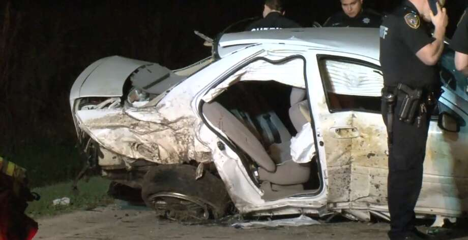6-month-old baby thrown from car after crash in Houston's ...