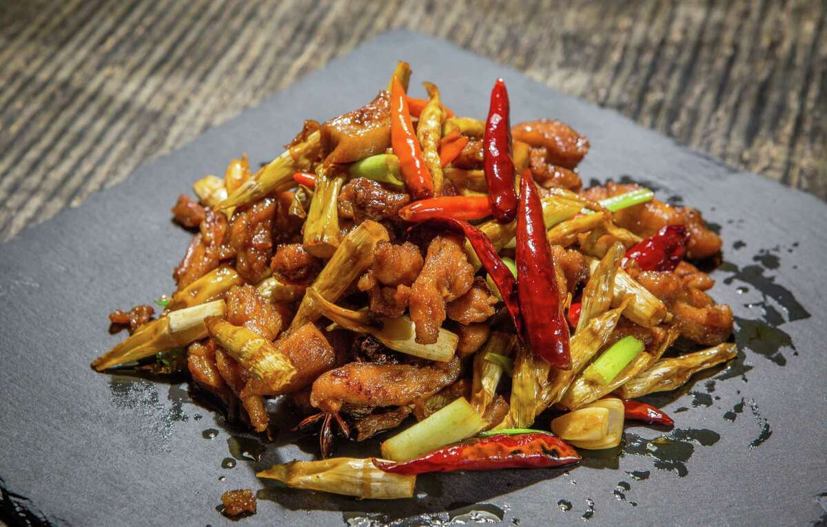 Chicken with Panda Bamboo at Mala Sichuan Bistro. The popular Chinatown restaurant specializing in Sichuan cuisine will open in Finn Hall, a food hall set to open downtown in mid-2018.
