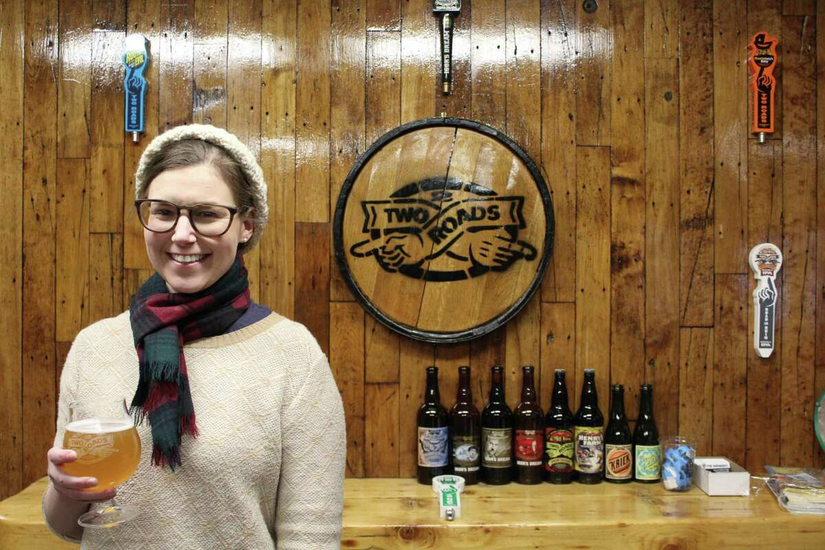 Emily Sauter, of Darien, is an Advanced Cicerone and works at Two Roads Brewery in Stratford.