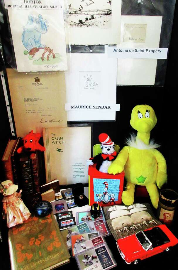 Items from Gil Rodriguez' collection. Photo: Contributed Photo / Contributed Photo / New Canaan News contributed