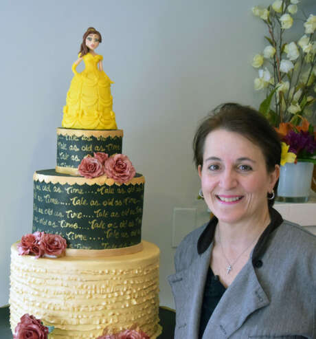 Lisa Maronian and one of her creations. Photo: Phil Hall/Westfair Communications