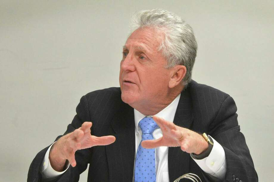 Norwalk Mayor Harry Rilling. Photo: Alex Von Kleydorff / Hearst Connecticut Media / Connecticut Post