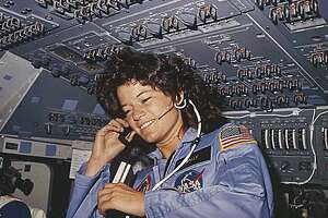 (FILES) This NASA file photo dated June 1983  shows America's first woman astronaut Sally Ride, as she communicates with ground controllers from the flight deck during the six-day space mission of the Challenger. Ride, the first US woman to fly in space, died on July 23, 2012 after a 17-month battle with pancreatic cancer, her foundation announced. She was 61. Ride first launched into space in 1983, on the seventh US space shuttle mission.       AFP PHOTO/NASA/HO     ++RESTRICTED TO EDITORIAL USE- NOT FOR ADVERSTISING OR MARKETING CAMPAIGNS - MANDATORY CREDIT: AFP PHOTO/NASA - DISTRIBUTED AS A SERVICE TO CLIENTS++-/AFP/GettyImages