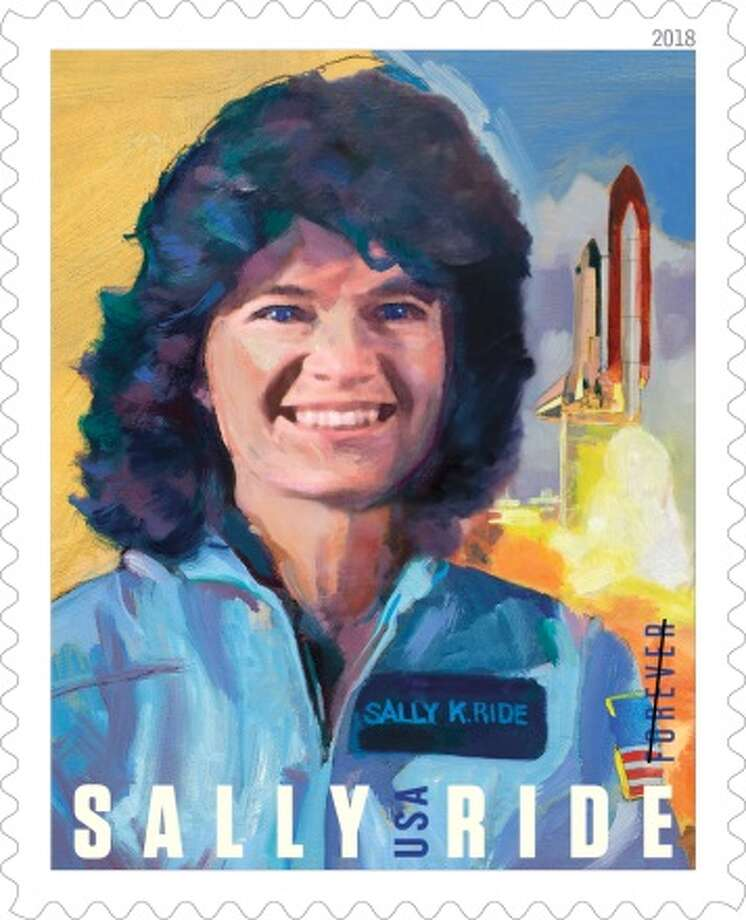 America's first woman in space, Sally Ride (1951–2012), inspired the nation as a pioneering astronaut, brilliant physicist and dedicated educator. A stamp commemorating her will be released May 23. Photo: Credit: USPS