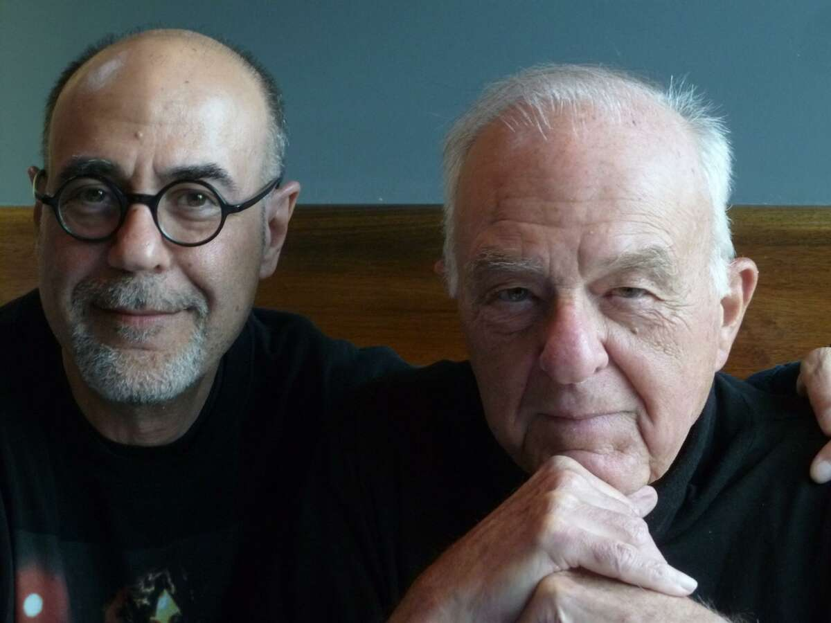 """Damon and William Goldstein, co-screenwriters of """"Forever Phibes"""" (Image from facebook.com/damon.j.goldstein)"""
