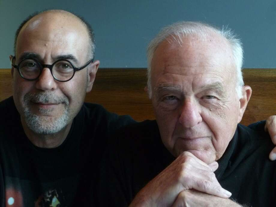 "Damon and William Goldstein, co-screenwriters of ""Forever Phibes"" (Image from facebook.com/damon.j.goldstein) Photo: Picasa"