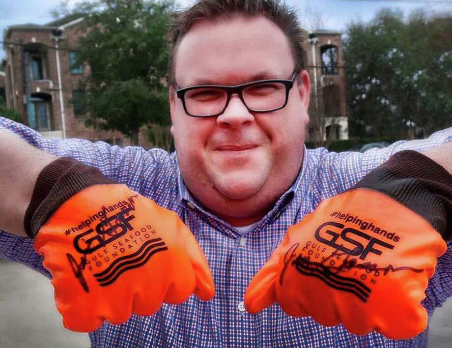 The Gulf Seafood Foundation has created a new fundraising effort called Helping Hands to provide work gloves to Gulf fishermen affected by Hurricane Harvey and Hurricane Irma. Houston restaurateurs including Underbelly's Chris Shepherd, are supporting the project. Photo: Gulf Seafood Foundation