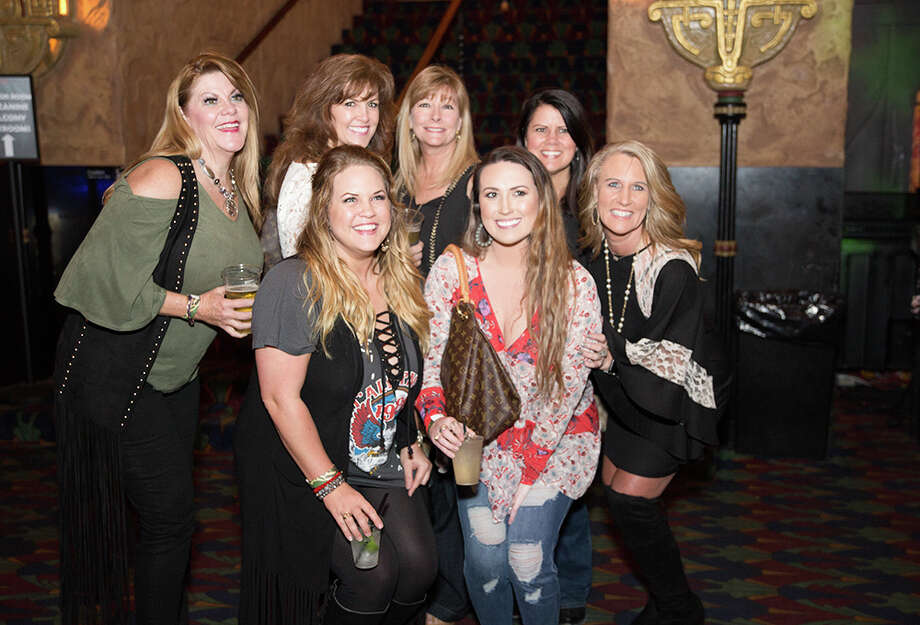 "A parade of San Antonio women headed to the Aztec Theatre on Thursday, March 1, 2018, to watch Magic Men Live take the stage. The male dance revue is billed as equal parts ""Magic Mike"" and ""Fifty Shades of Grey."" Photo: B. Kay Richter, For MySA.com"