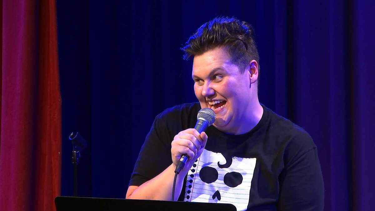 """Caitlin Weierhauser, who can be seen at clubs all over Portland, also hosts a monthly comedy panel called """"I, Anonymous"""" at the northeast side�s Curious Comedy Theater."""