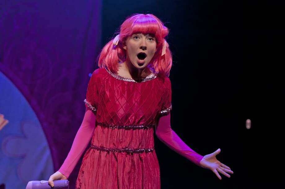 "Rachel Oremland stars in ""Pinkalicious: The Musical"" at Westport Country Playhouse on March 11. Photo: Richard Termine / Contributed Photo / © 2009 Richard Termine for The New York Times"