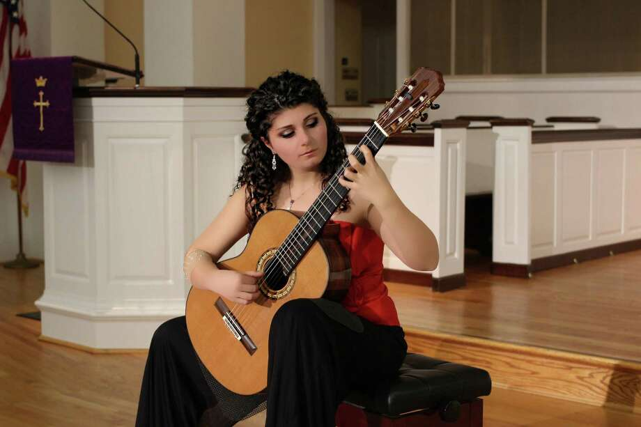 Spanish-style guitarist Gohar Vardanyan will perform March 10 at the Milford Center for the Arts. Photo: Milford Center For The Arts / Contributed Photo