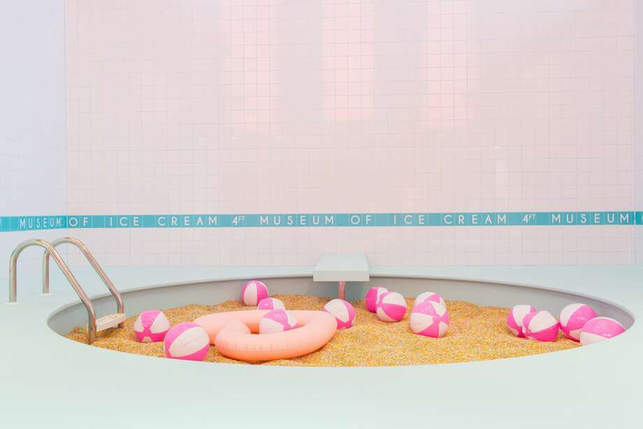 The Museum of Ice Cream is a popular, Instagram-friendly destination in San Francisco. Photo: Photo By Katie Gibbs