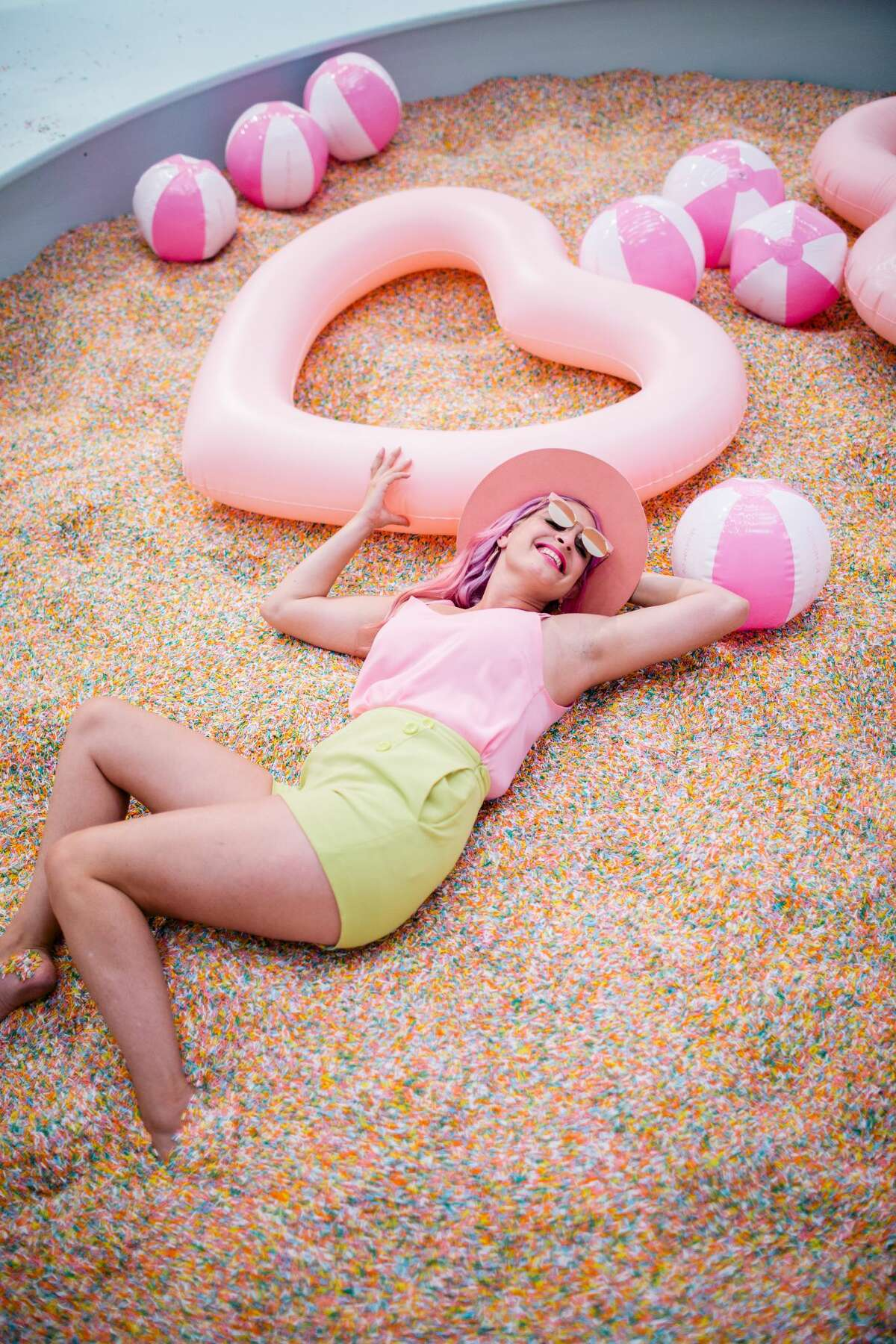 The Museum of Ice Cream is a popular, Instagram-friendly destination in San Francisco.