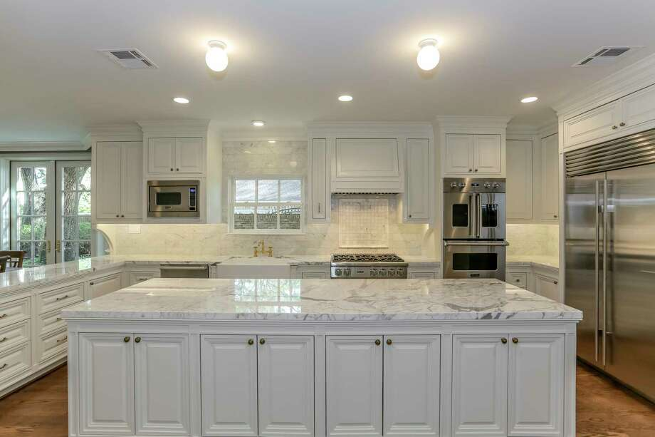 This is the remodeled kitchen in a whole-house remodel of a traditional New Orleans-style home. Photo: Courtesy Of Craftsmanship By John / Christy Armstrong