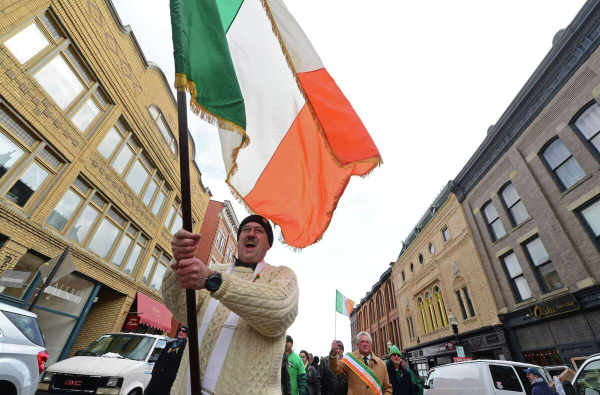 The Norwalk Police Emerald Society's third annual St. Patrick's Day parade steps off from Veterans Memorial Park and proceeds through South Norwalk beginning at 11 a.m. on Saturday, March 10.