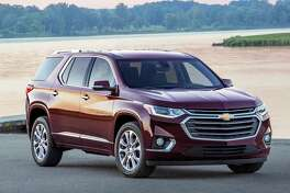 Featuring a bold and refined new look, the completely redesigned 2018 Chevrolet Traverse offers best-in-class cargo space and convenience features that make loading and unloading a breeze.