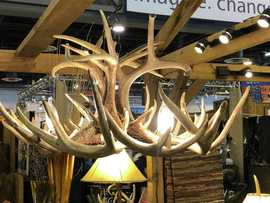 PHOTOS: Shopping at RodeoHoustonWestern-style furniture at Jeff and Ashlee Miller's Slick Rock Designs booth at the Cowboy Crossing shopping area at NRG Center at the 2018 Houston Livestock Show and Rodeo.See more of what you can buy at RodeoHouston... Photo: Diane Cowen / Houston Chronicle