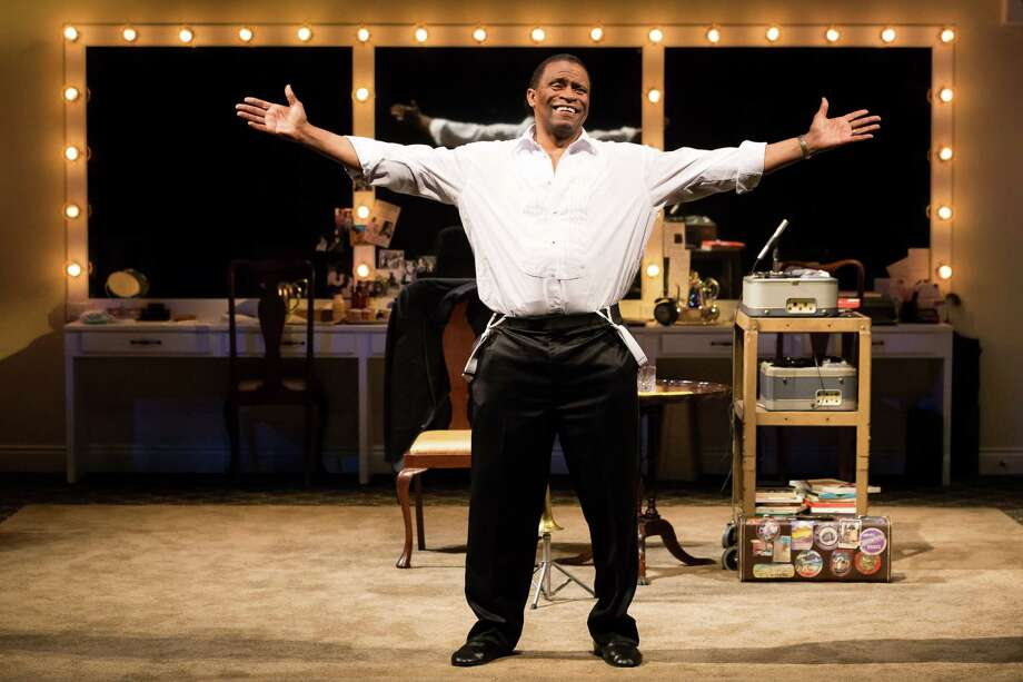 "Jerome Preston Bates stars as Louis Armstrong in ""Satchmo at the Waldorf."" Photo: Lynn Lane"