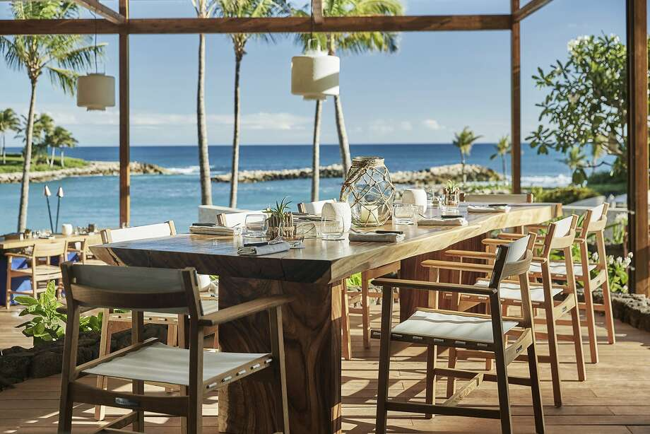 Mina's Fish House in the Fours Seasons Resort Oahu at Ko Olina. Photo: Christian Horan, Courtesy The Four Seasons