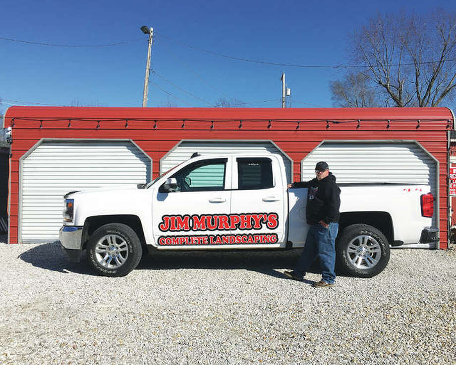 "Complete Landscaping owner Jim ""Chief"" Murphy, an avid Kansas City Chiefs fan, is easy to spot in his custom signature pickup truck. The business officially opens for the season Monday, March 12, but now is accepting appointments."
