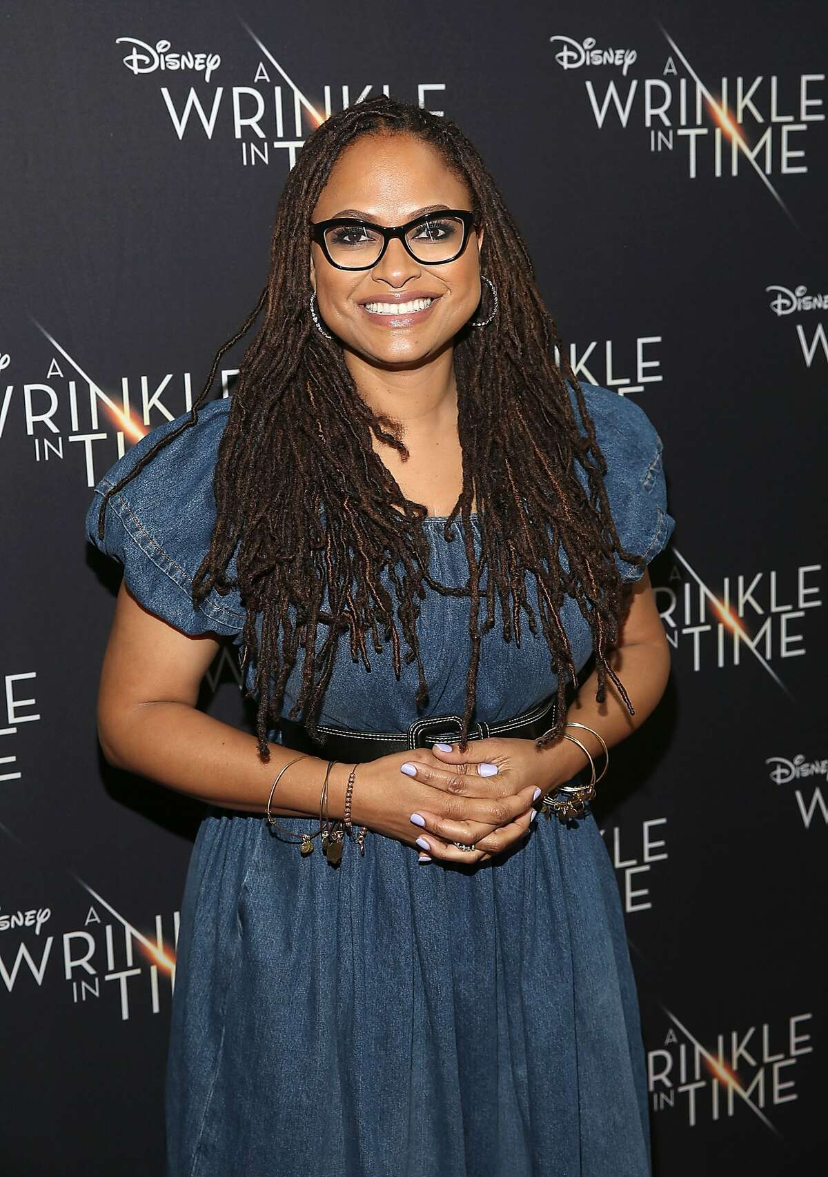 """COMPTON, CA - MARCH 02: Director Ava DuVernay attends a special advance private screeing of """"A Wrinkle in Time"""" attended by students from various middle schools around the city of Compton on March 2, 2018 in Compton, California. (Photo by Jesse Grant/Getty Images for Disney)"""