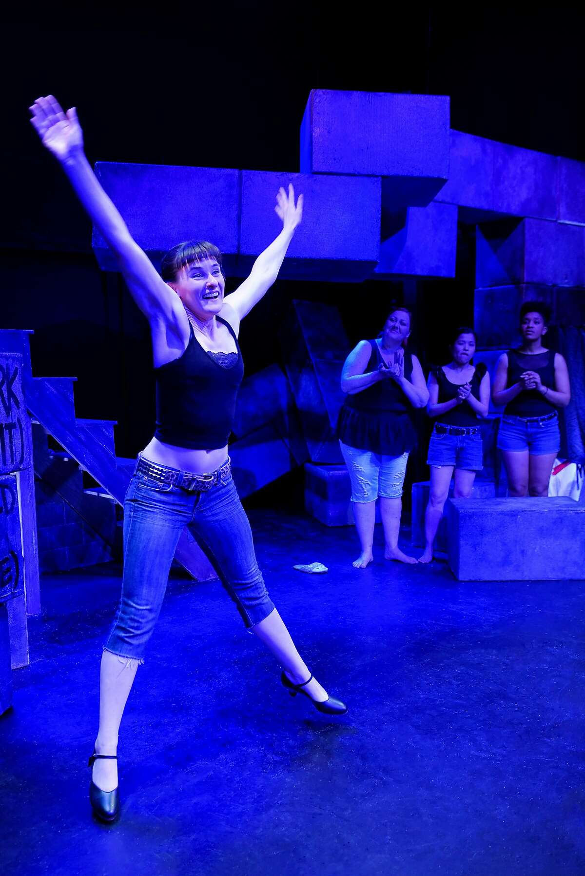 Elissa Beth Stebbins in Crowded Fire Theater's