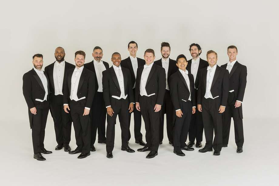 The men's chorus Chanticleer is completing its 40th season. Photo: Chanticleer