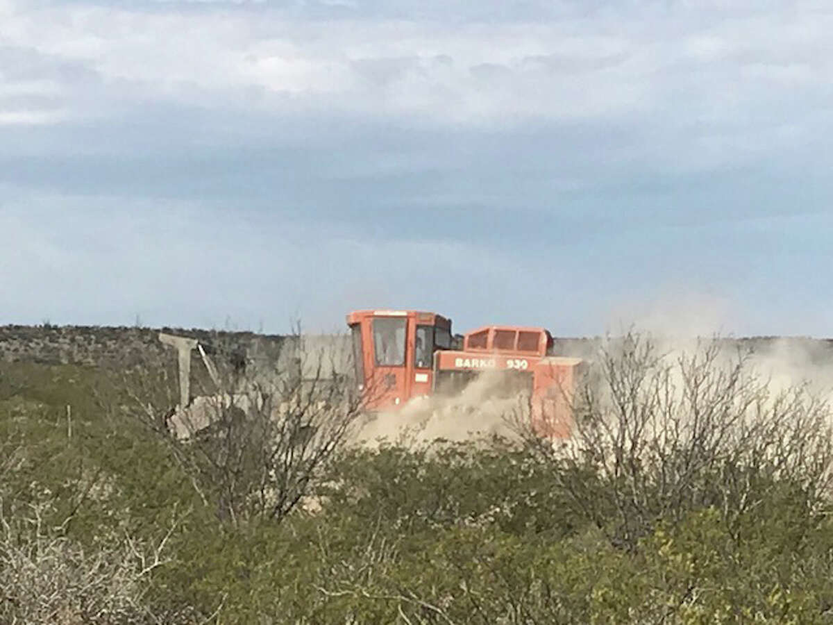 MMEX Resources has begun construction of an access road to its projected 10,000 barrel-a-day crude distillation unit 20 miles northeast of Pecos. MMEX had acquired an easement from the University of Texas System.
