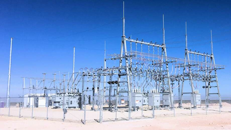 This high-voltage substation will serve Brazos Midstream's Comanche II cryogenic processing plant in the Delaware Basin. Photo: Courtesy Of Priority Power