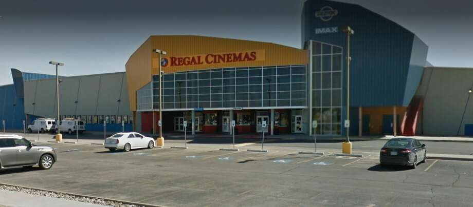 Regal Theater  on Monday will take that first step before the city's Planning and Zoning Commission with a request for a special use permit for its Tall City 14 theater. Photo: Google Maps