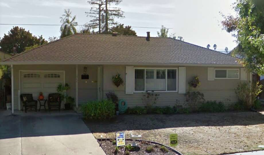 This 800-sq.-ft. Sunnyvale home sold for $2 million in February. Photo: Google Maps