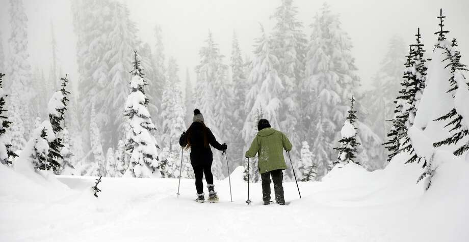 There are a lot of people who are rejoicing now that the government is back open, and federal employees are going back to work. Snowshoers and hikers are likely among those as Mount Rainier National Park will reopen -- soon.  After passing a short-term funding deal to reopen the government after a record shutdown, the National Park Service announced on Saturday that they would begin restoring full winter operations at the park, but that significant snow removal would take many days to restore full access to Paradise. Photo: Elaine Thompson/AP