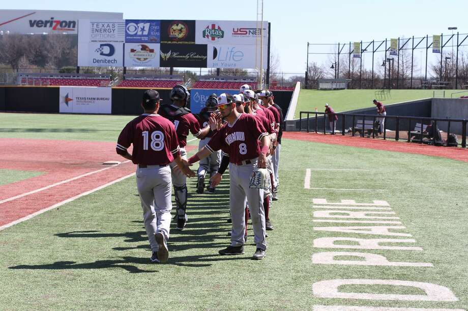 The TAMIU baseball team won 2-1 in Grand Prairie at QuikTrip Park over Arlington Baptist to win their fifth straight game. Photo: Courtesy Of TAMIU Athletics