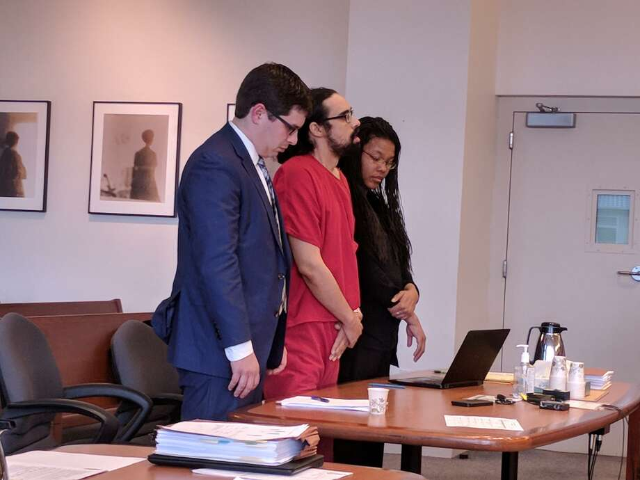 Lee Dupay, center, claims that the 2016 death of his 4-month-old daughter, Royale, was a mistake. A judge sentenced him to 14 years in prison Friday afternoon. Photo: Lynsi Burton/seattlepi.com
