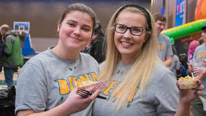 Were you Seen at the third annual Hannaford MAAC-n-Cheese Fest at the Albany Capital Center on March 2, 2018?