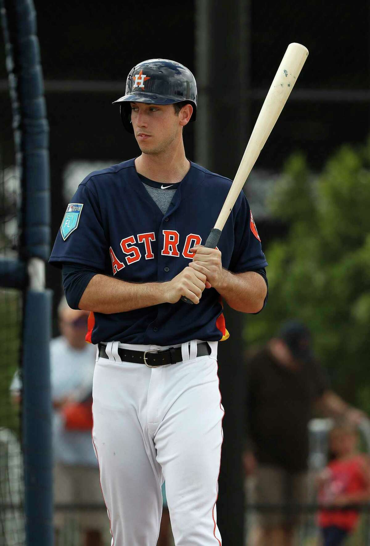 Kyle Tucker is hitting .385 with three homers and eight RBIs in 13 spring at-bats, but manager A.J. Hinch says the 21-year-old phenom has some strides to make in plate discipline.