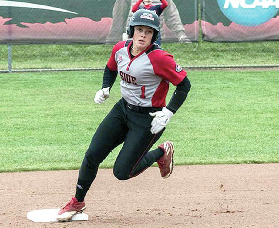 SIUE's Zoe Schafer had a home run and a double in Friday's 4-0 victory over Central Arkansas at the Madeira Beach Spring Invitational Photo: SIUE Athletics