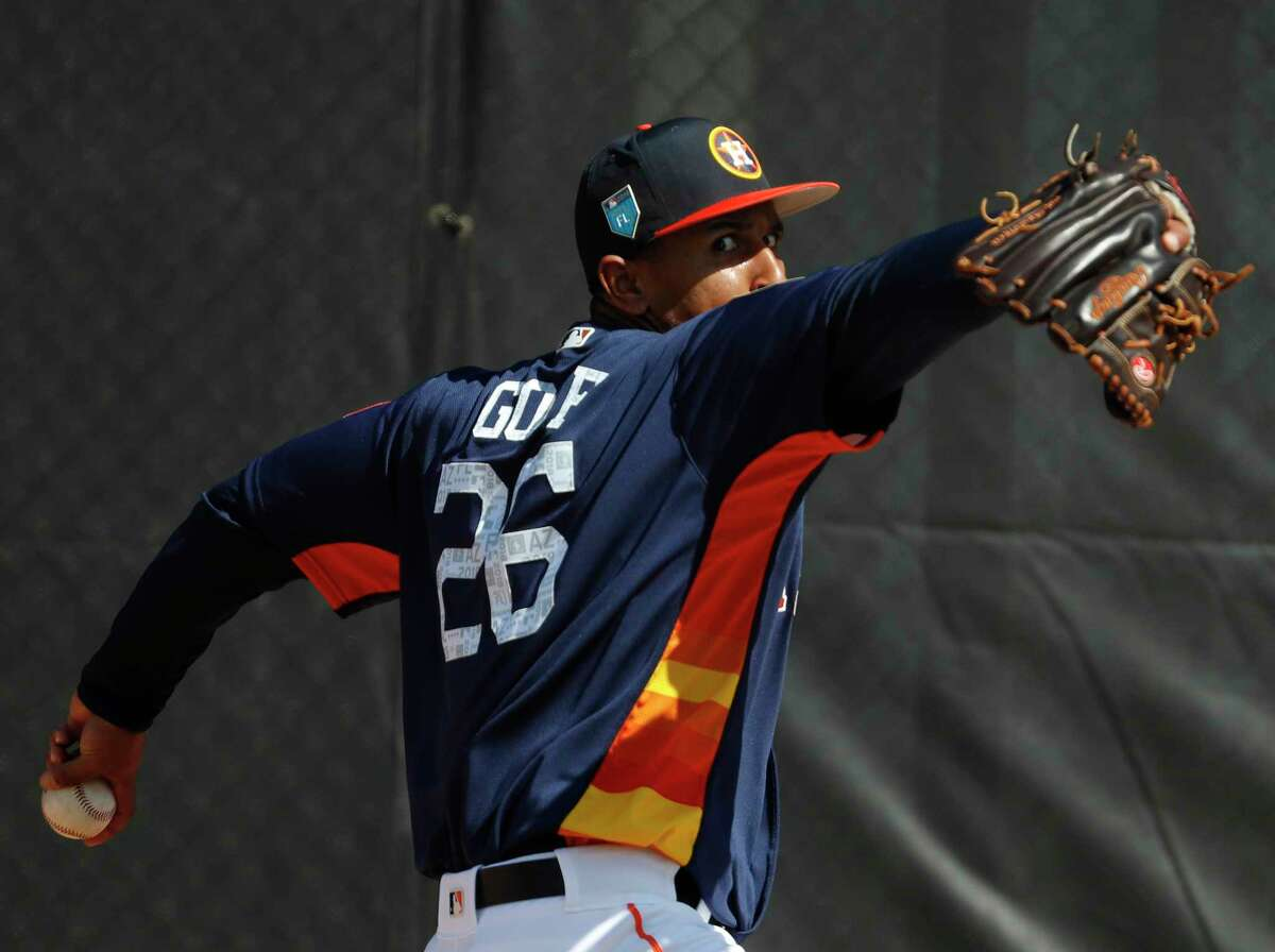Astros lefthander Anthony Gose is scheduled to make his spring debut Saturday against the Nationals.