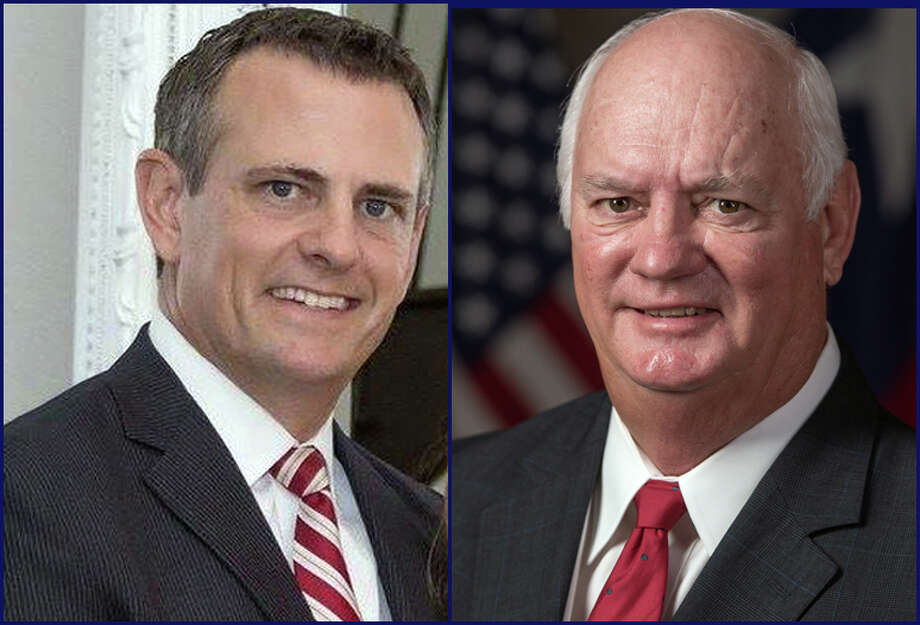 Shawn McDonald (left) and Cliff Vacek (right) are vying for the Republican nomination for Fort Bend County District Attorney. The primary is March 6, 2018