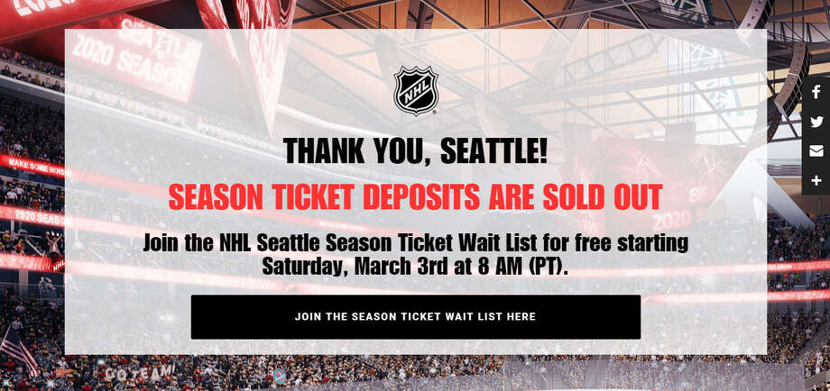(screen capture at NHLSeattle.com, Friday, March 2, 2018)