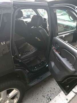 The San Francisco firefighters union tweeted this photo of the break-in of un ion chief Tom O'Connor's vehicle near City Hall.