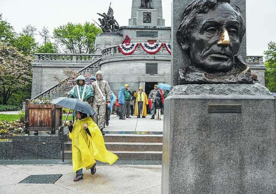 The tomb of Abraham Lincoln, in Oak Ridge Cemetery in Springfield, is a draw for those who want to learn more about the nation's 16th president. Photo: Justin L. Fowler   State Journal-Register