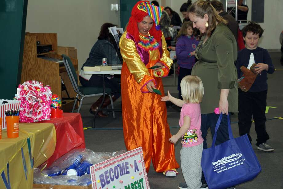 There was plenty of fun — and useful information — at Saturday's 2018 Children's Wellness Adventure, which was held at Evangel Life Assembly of God. Photo: Kate Hessling/Huron Daily Tribune