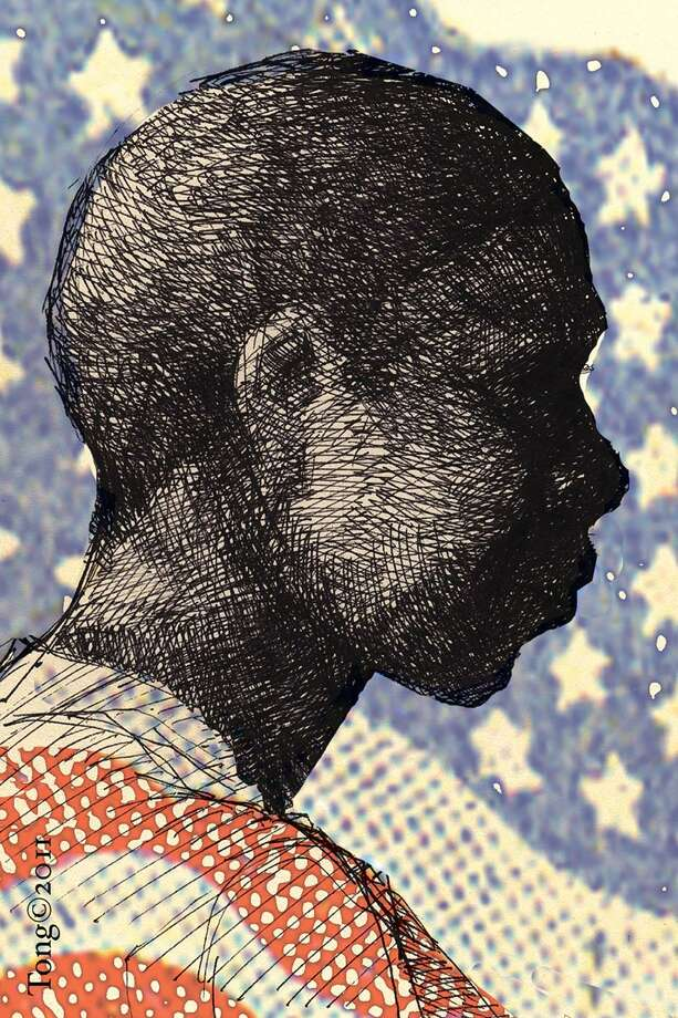 This artwork by Paul Tong relates to Black History Month. Photo: / Paul Tong