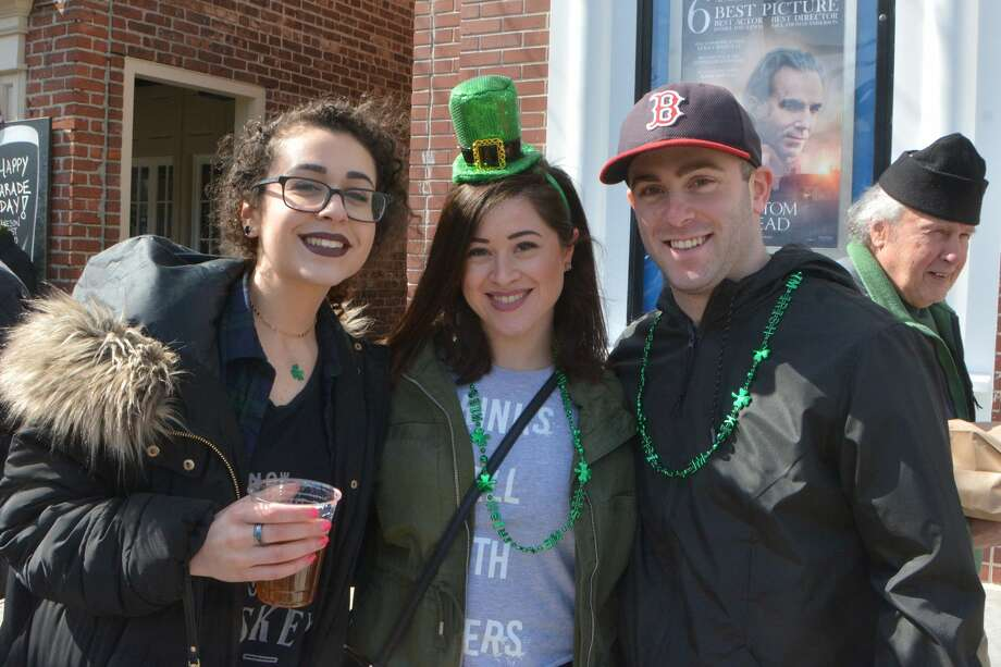 Stamford held its annual St. Patrick's Day parade on March 3, 2018. U.S. Sen. Chris Murphy led the parade in which 80 groups and about 2,000 people marched. Were you SEEN? Photo: Vic Eng / Hearst Connecticut Media Group