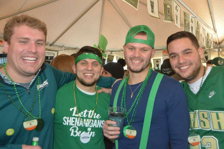 Stamford St. Patrick's Day parade Stamford held its annual St. Patrick's Day parade on March 3, 2018. U.S. Sen. Chris Murphy led the parade in which 80 groups and about 2,000 people marched. Were you SEEN? Click here to view more photos.