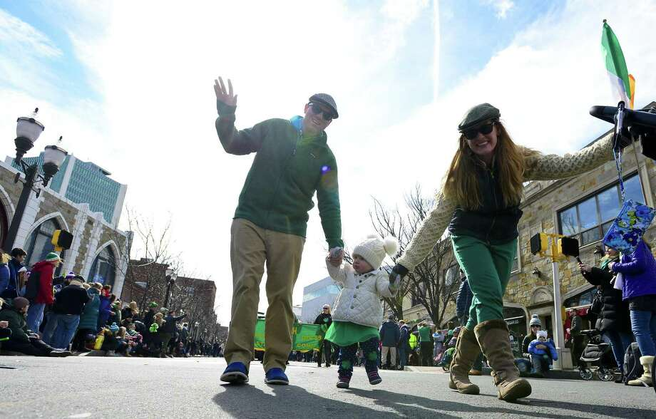STAMFORD: The iconic Stamford St. Patrick's Day Parade will be putting all in the mood for St. Paddy's Day on Saturday. Find out more. Photo: Matthew Brown / Hearst Connecticut Media / Stamford Advocate
