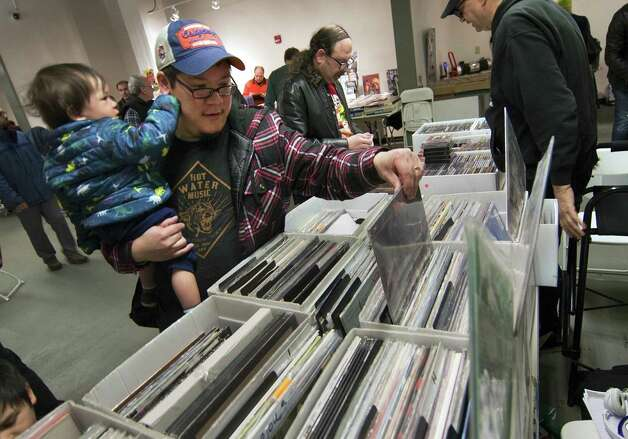 WPKN's 'Music Mash' Record Fair, Bridgeport WPKN is hosting its annual record fair outdoors this year on Saturday. Find out more. Photo: Christian Abraham / Hearst Connecticut Media / Connecticut Post